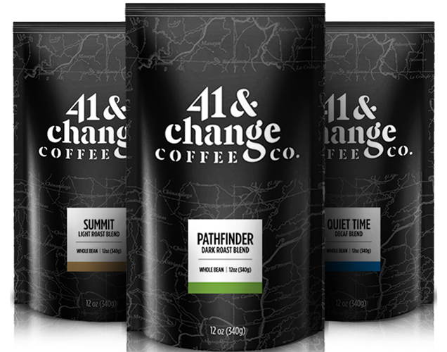 Coffee Bags: 41 & Change Coffee Co.